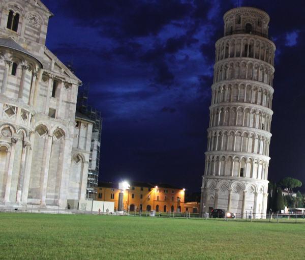 Pisa at Dawn