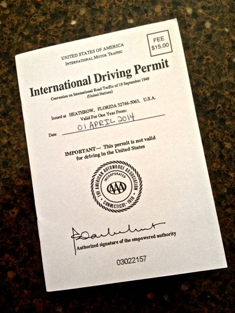 International Driving Permits Are They Really Necessary