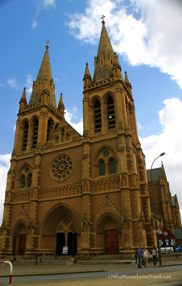 Beautiful St. Peter's Cathedral in Adelaide