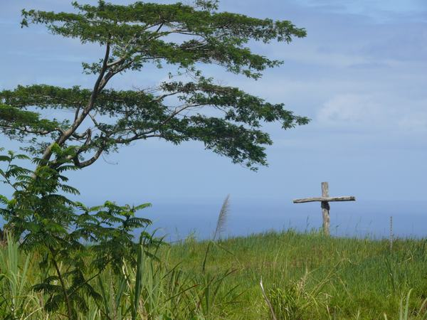Beautiful Cross in a Field - A Hilo Easter