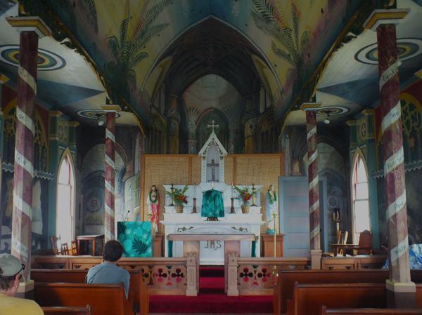 Inside the Beautiful Church