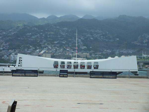 Memorial for the USS Arizona