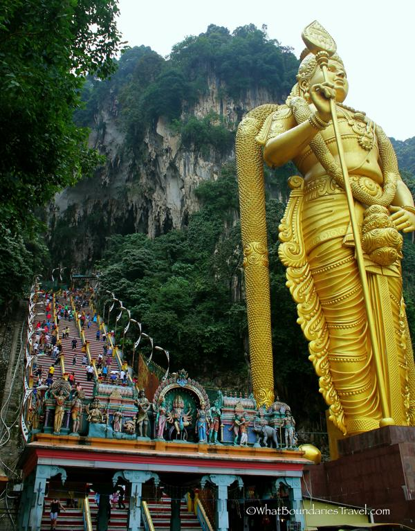 The Steps of Batu Caves. Well Worth the Trip