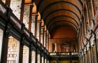 Beautiful Library at Trinity College