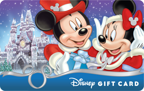 Walt Disney Gift Card