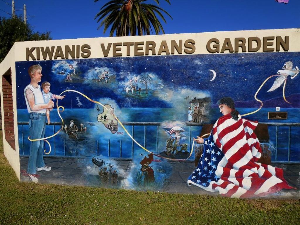 Lest We Forget - Kiwanis Veterans Garden