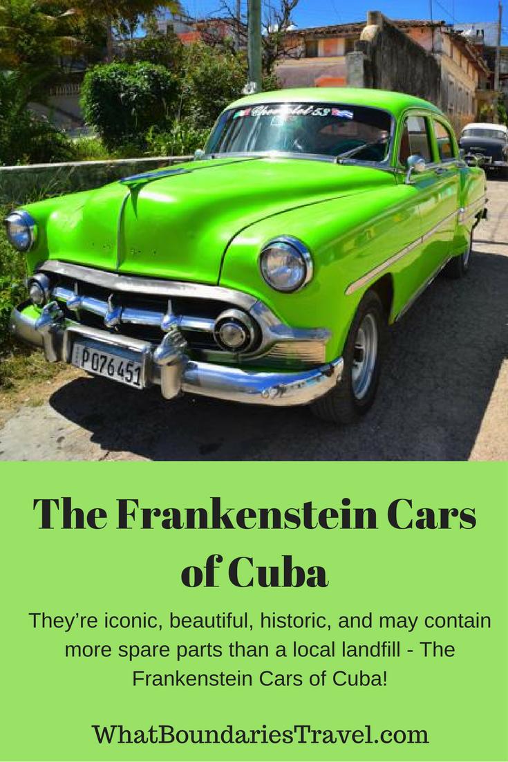 Cuba's Frankenstein Antique Cars