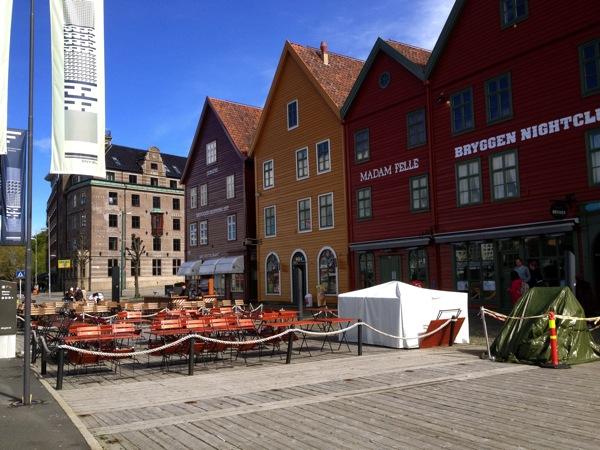 Bryggen Wharf Houses