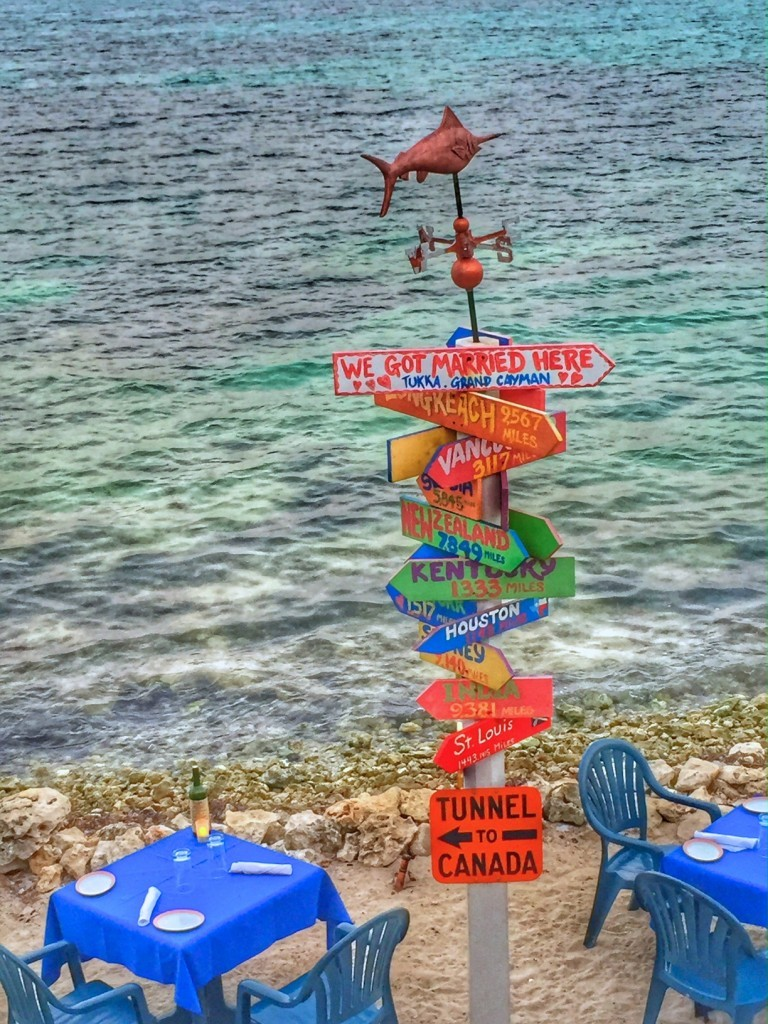 Follow The Signs In Paradise Grand Cayman What Boundaries Live Your Dream
