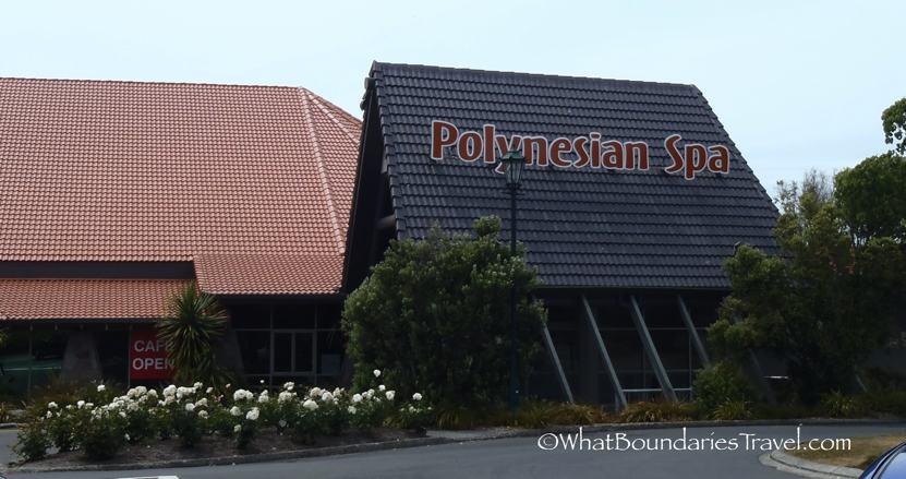 Hot Springs at the Polynesian Spa