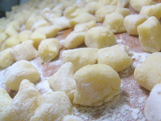 Homemade Italian Gnocchi