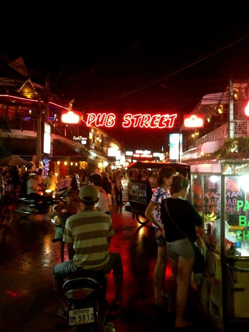 "Pub Street: Great night life location in Siem Reap, but also full of ""Milk Money"" babies"