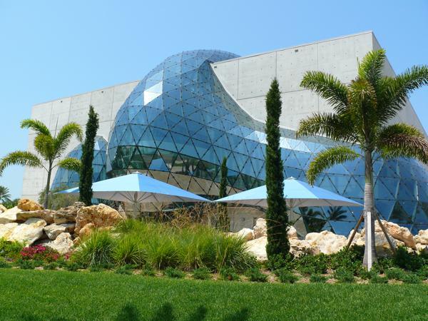 The Unusual Exterior of the Dali Museum
