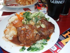 Amazing Irish Lunch!