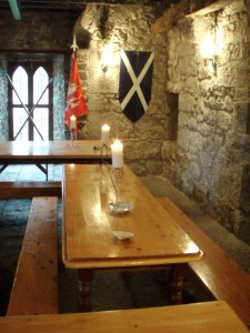 Dining Area at our Haunted Castle