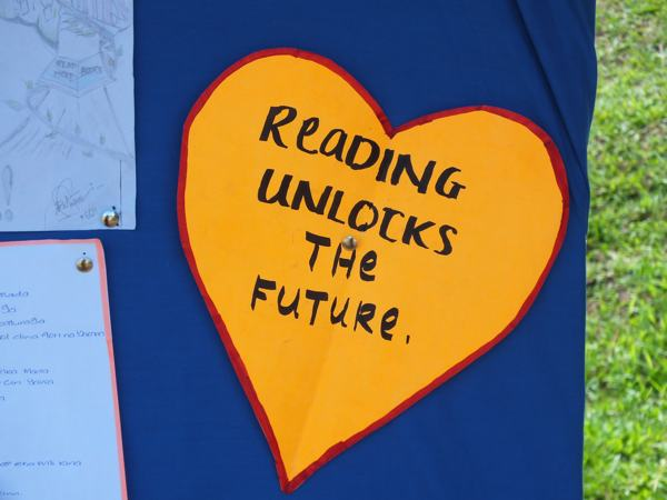 Reading Unlocks the Future!