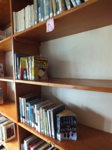 Lots of Empty Shelves