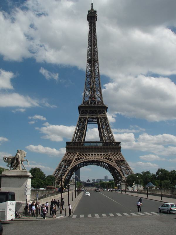 Iconic Eiffel Tower