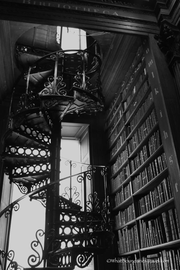 Ornate Staircases at the Trinity College Library