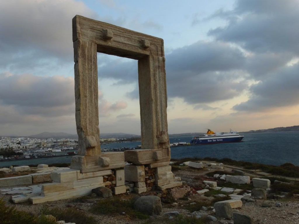 Temple Of Apollo On Naxos Greece