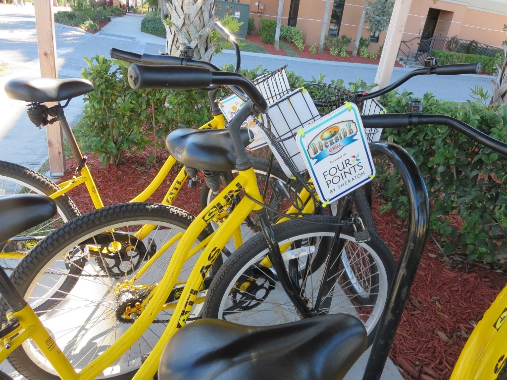 Free Bicycle use all Around Punta Gorda