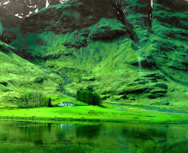 Glencoe Scotland - beautiful Glen with a tragic history