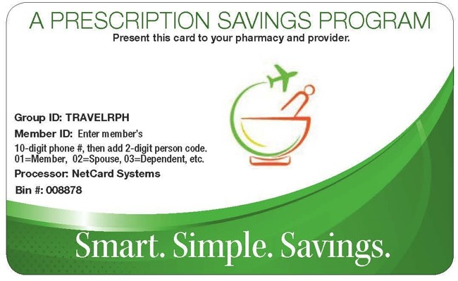 Free Prescription Discount Card and 24/7 TeleHealth Care!
