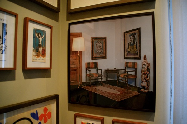 Picassos in Berrguen's Paris Home
