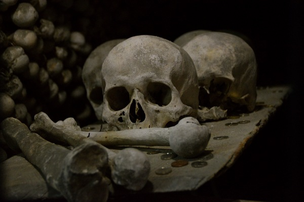 Bone Church of Kutna Hora in Prague