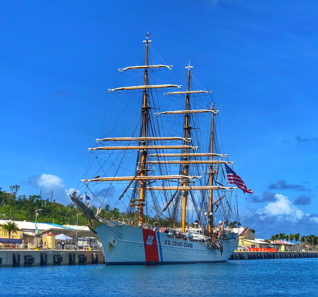 USCGC Eagle - America's Tall Ship (with PHOTOS)
