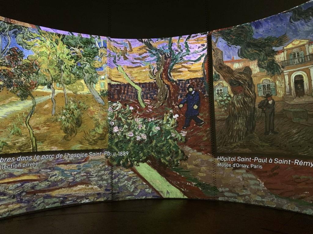 Van Gogh Starry Night Experience in Paris