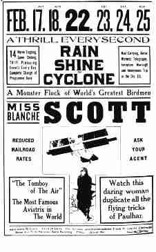 Blanche Stuart Scott poster